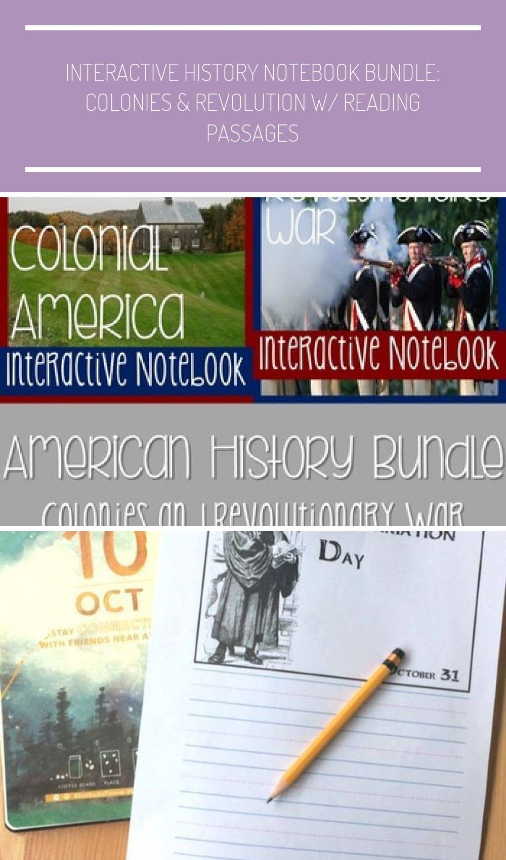 Photo of Interactive Social Studies Notebooks are wonderful, and fun, ways to introduce y…