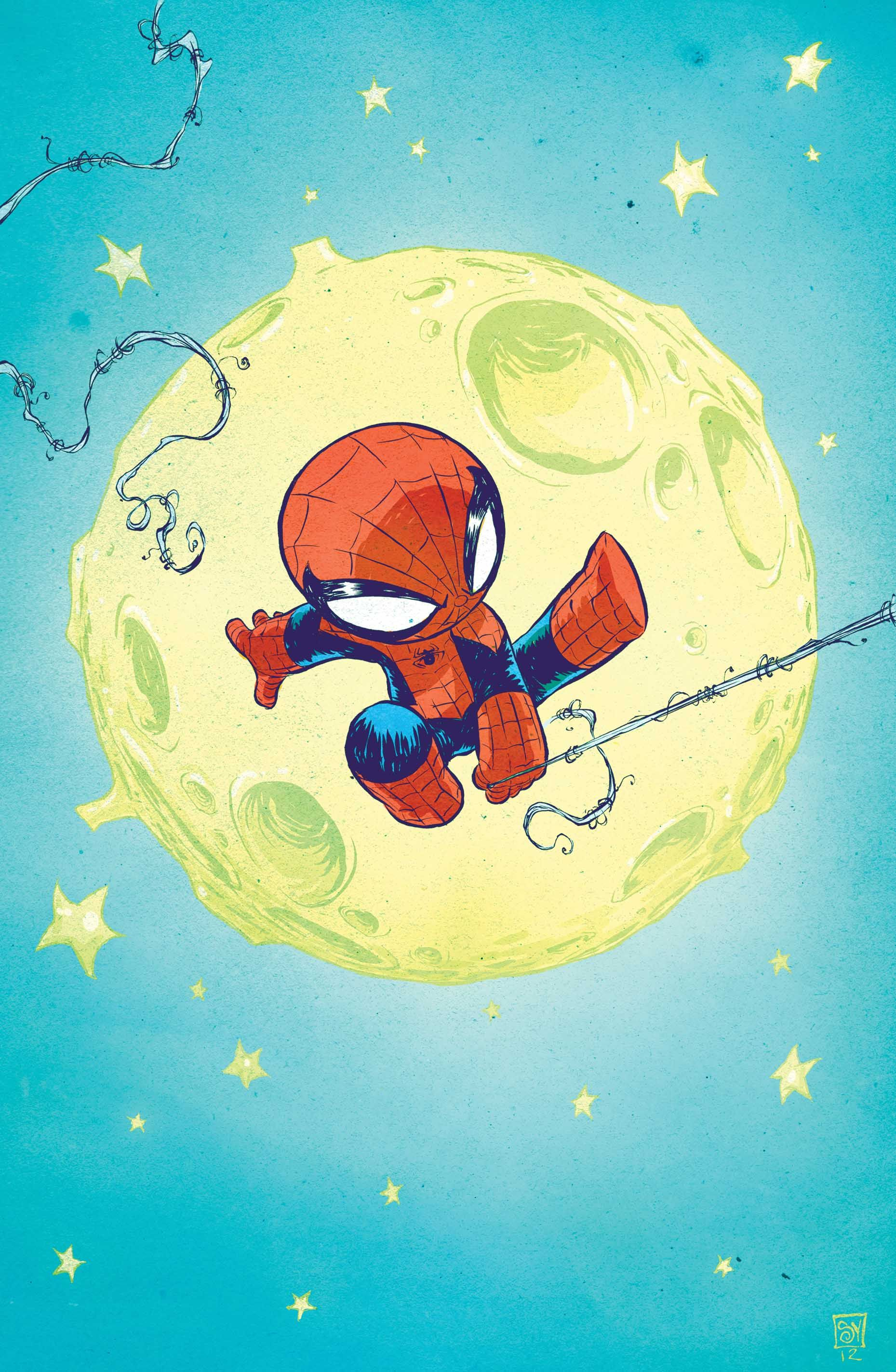 2013 MARVEL NOW SKOTTIE YOUNG BABY VARIANT THE SUPERIOR FOES OF SPIDER-MAN #1
