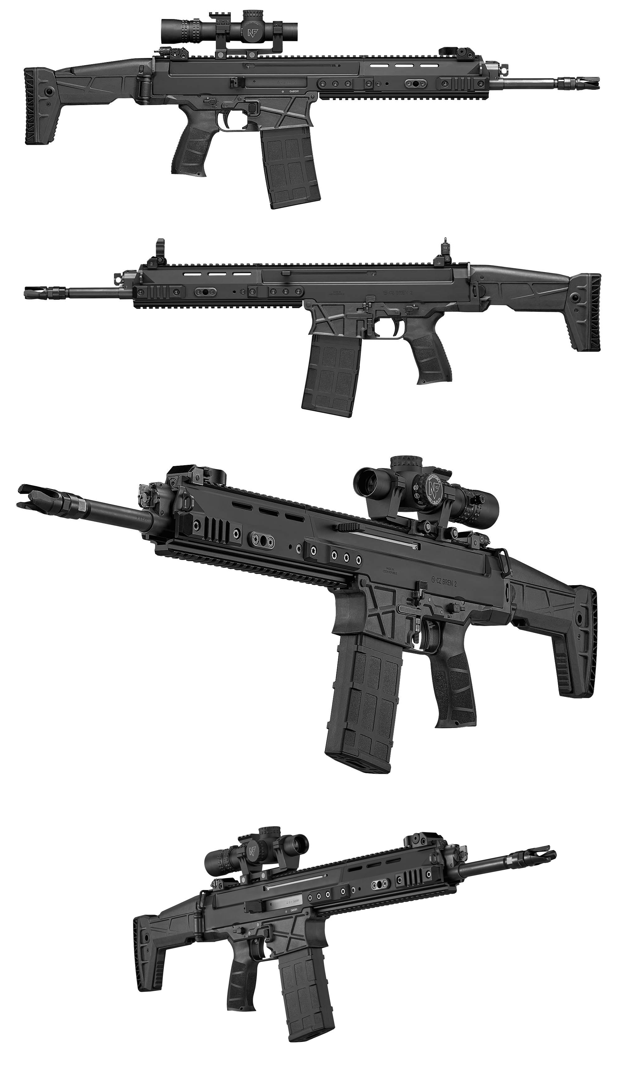 CZ Bren 2 BR 7 62x51 | Military | Guns, Firearms, Weapons