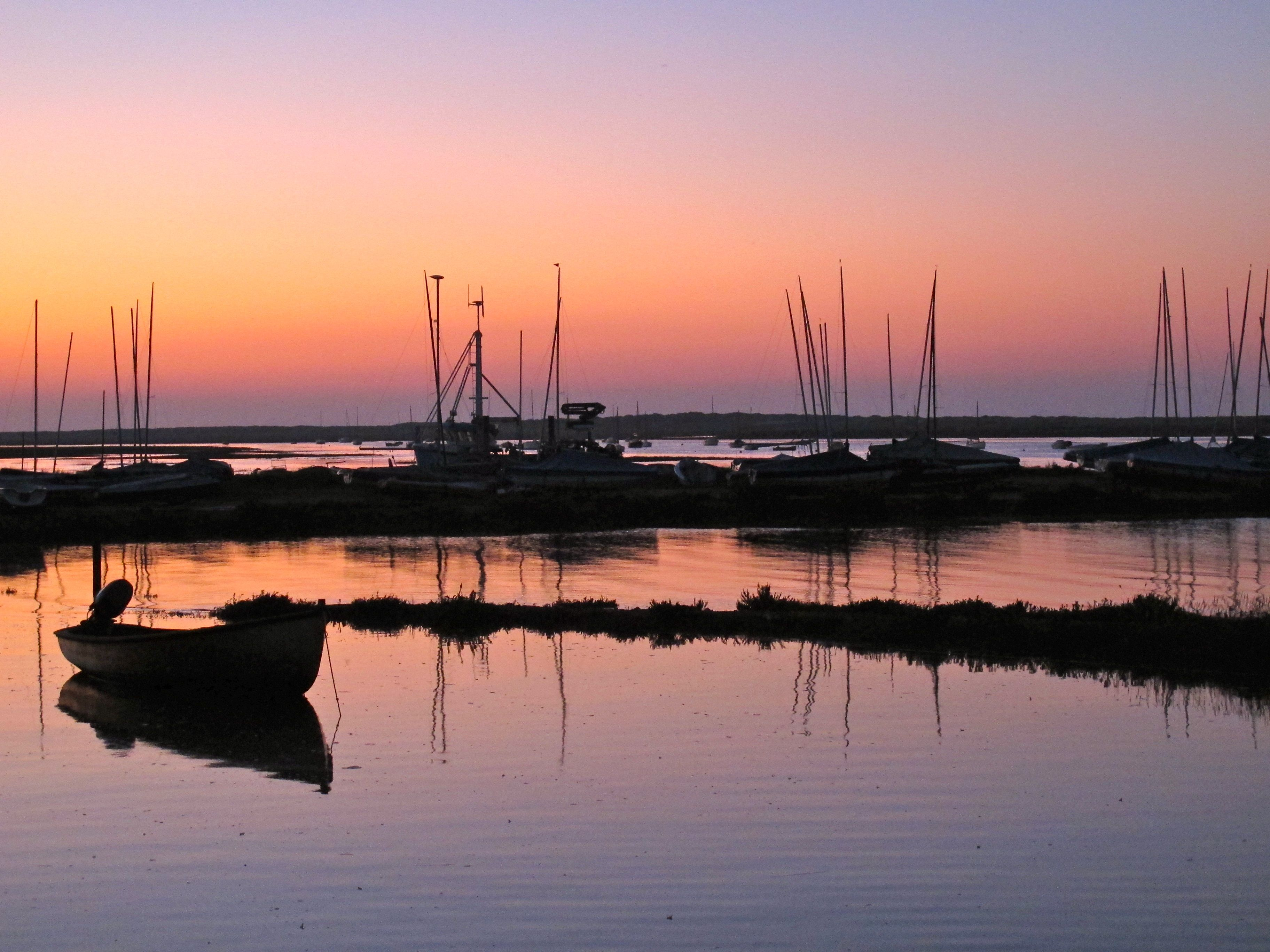 Sunset at Brancaster Harbour