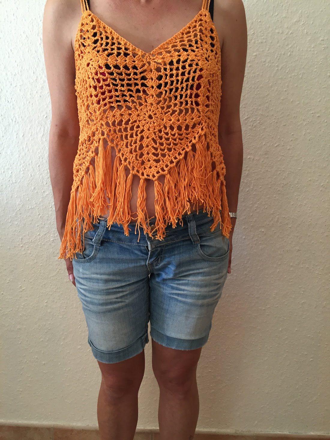 trouver le travail grande remise plus grand choix de 2019 Tuto top été au crochet Alextitia Tuto Crochet | tricot ...