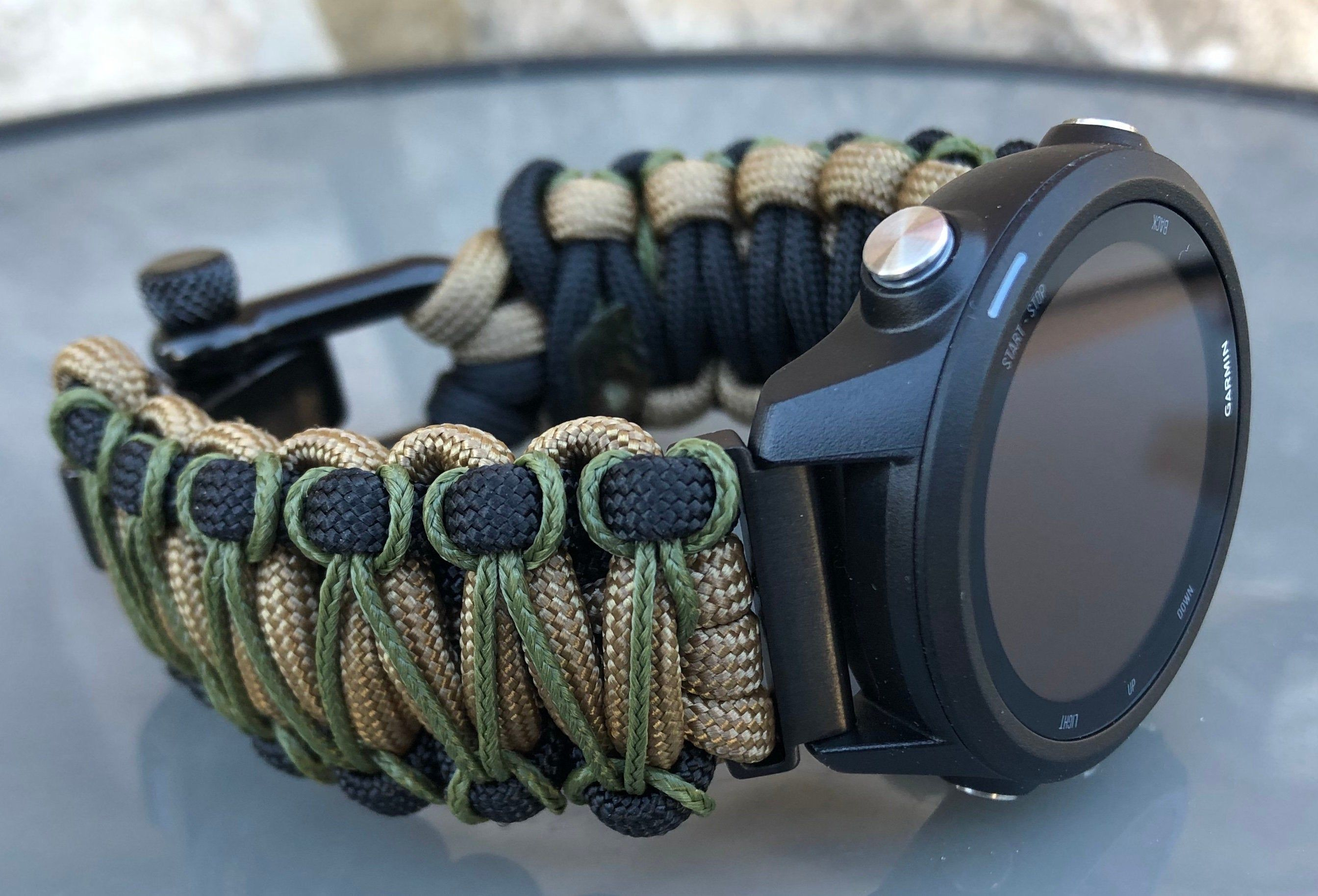 Garmin Forerunner Paracord Watch Band 550 Paracord Watch Band