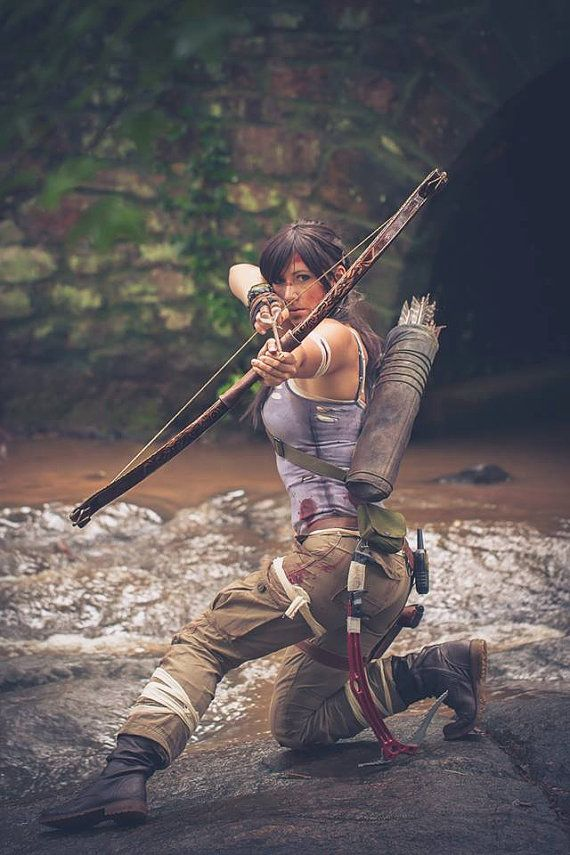 Recurve Bow For Lara Croft Tomb Raider Cosplay Tomb Raider