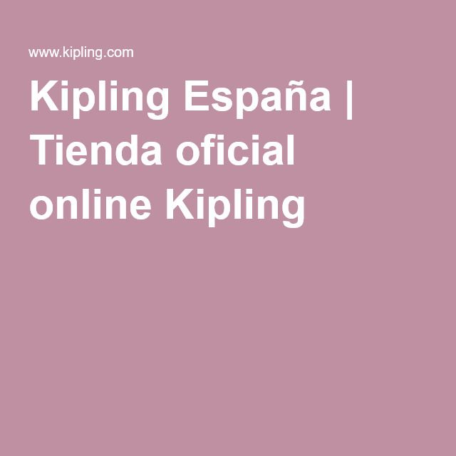 Kipling España   Tienda oficial online Kipling