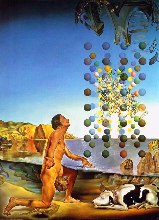 DalH Nude, 1954. Salvador Dalí #Surrealismo #Spain @deFharo