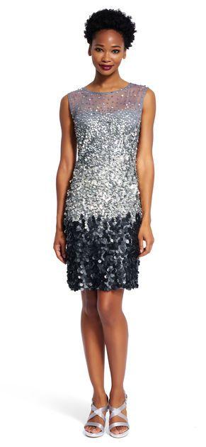 97b17a2fd0e Fully Beaded Cocktail Dress