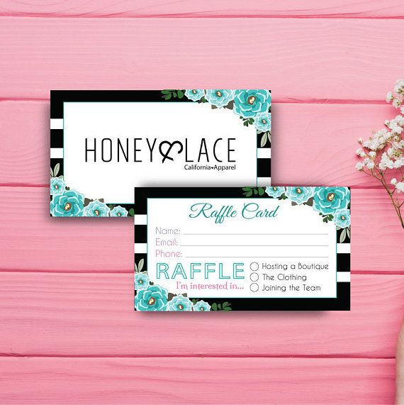 Honey and lace raffle ticket business card honey money raffle card honey and lace raffle ticket business card honey money raffle colourmoves