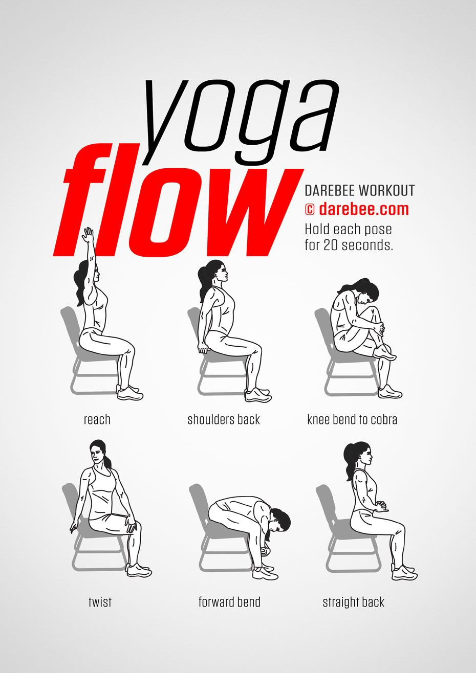 Yoga Flow Workout Gym Douce Couch My Office