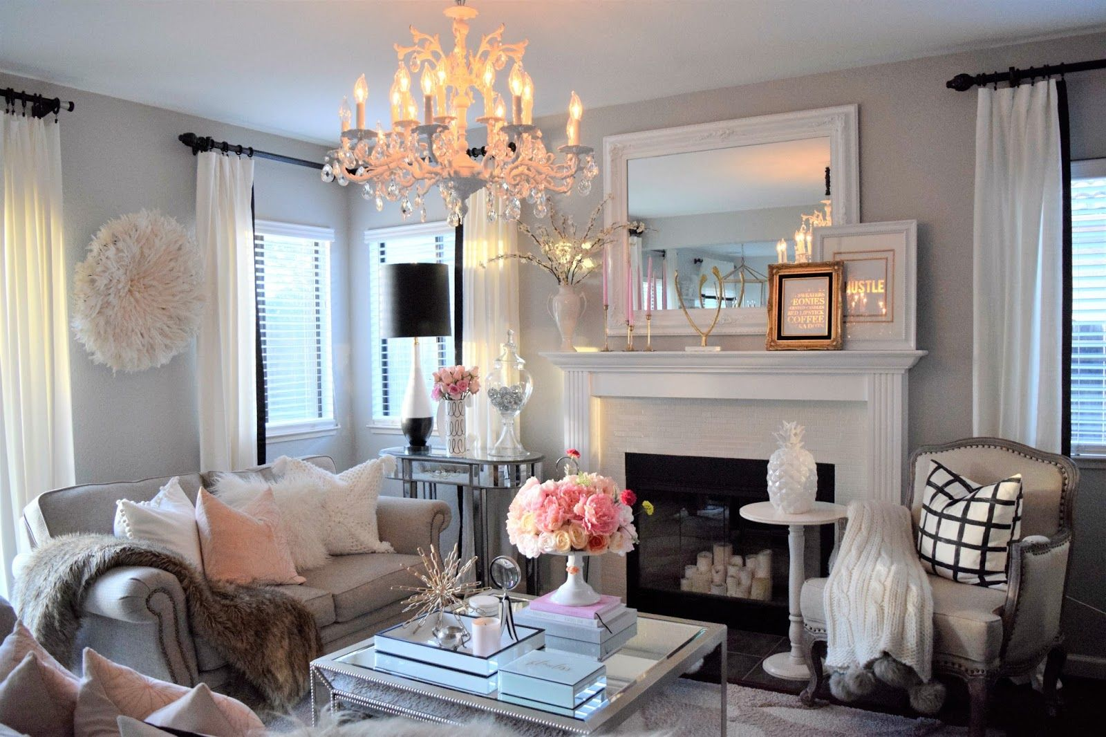 NEW YEAR, NEW IDEAS | Glamour living room, Decor, Living ...