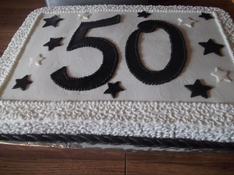 Customer Requested A Black And White Sheet Cake Cakes Pinterest
