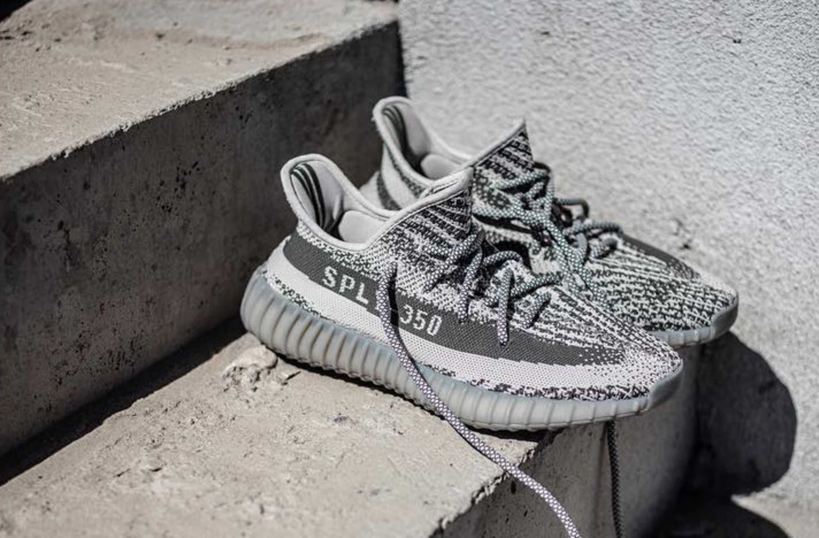 A First Look at the All Grey adidas Yeezy Boost 350 V2. 7fd978b0fc