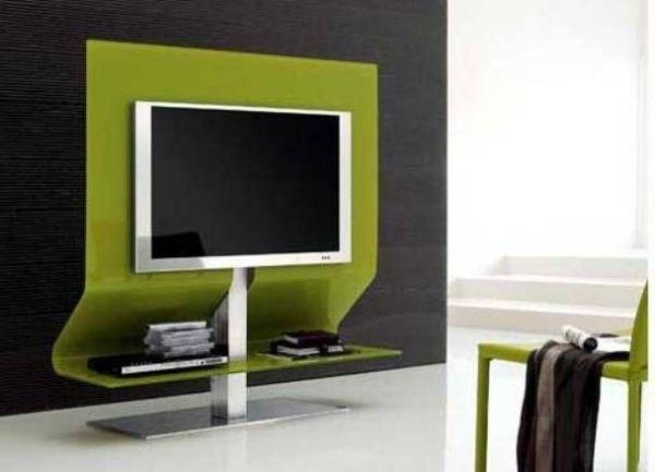 Wohnzimmerschrank modern ~ Tv schrank fernsehmöbel grün design modern ideen tv wall units