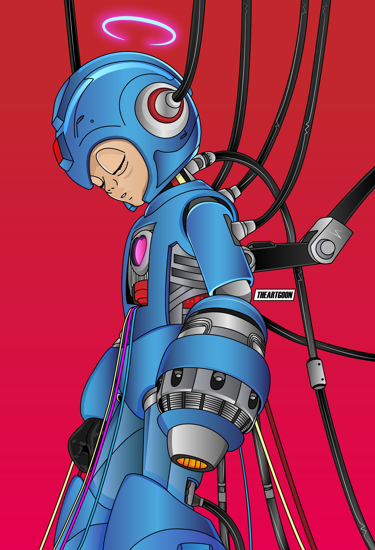 #Itsmcflyy #Mcflyy #Megaman #Nintendo #Manga #Dopeart #Art #Illustration