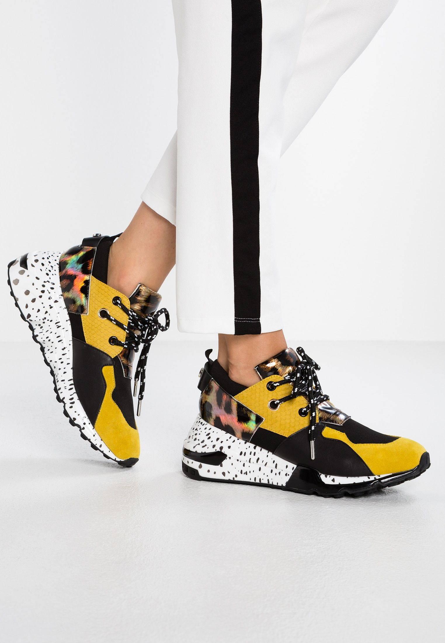 Steve Madden Sneakers Cliff Yellow Multy