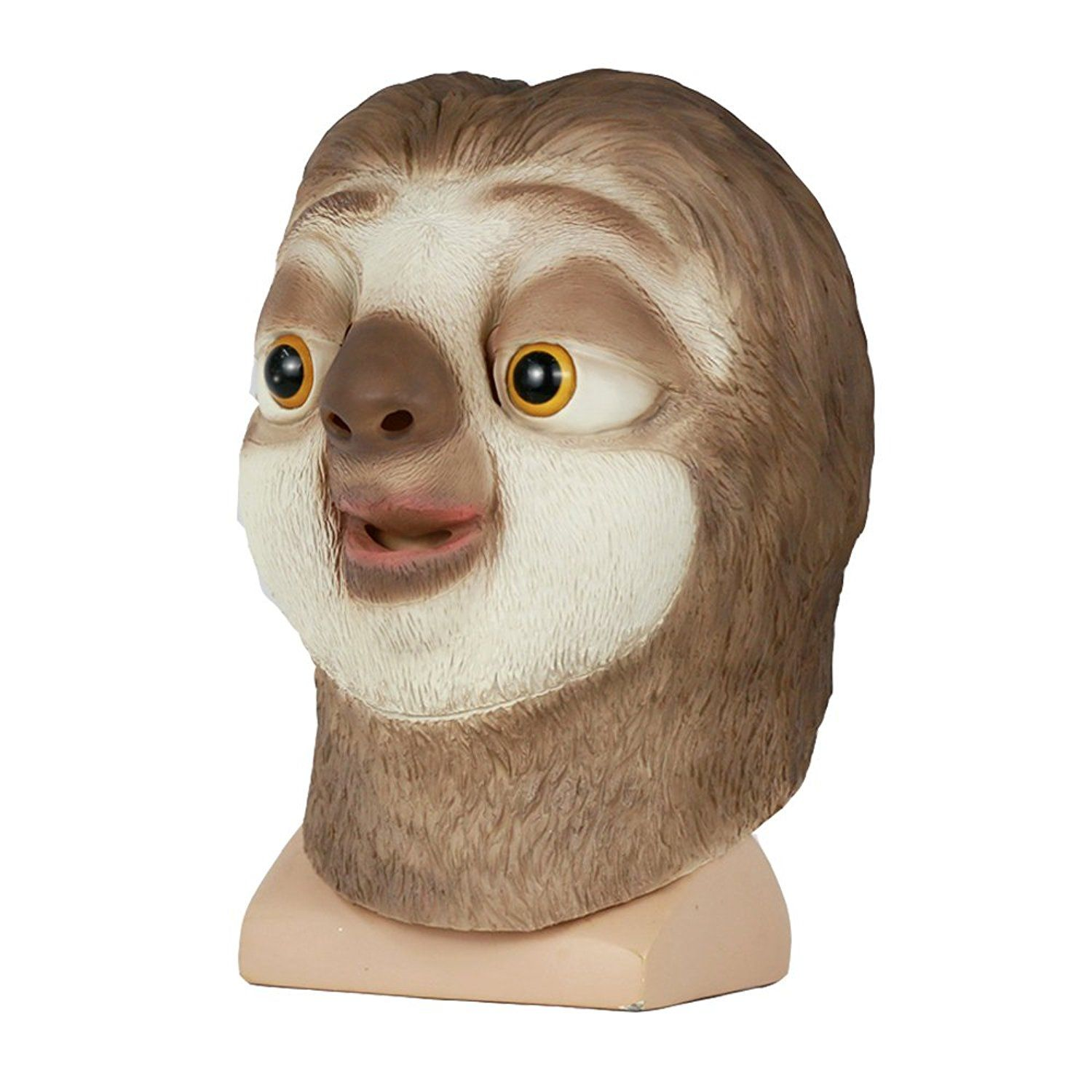 d3d3ffc339e1 BFJ Zootopia Flash Animal Head Mask Sloth Cosplay Costume     Check out the  image by visiting the link.