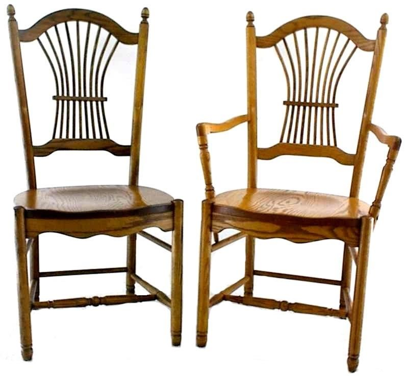 Amish Ohio Sheaf Back Dining Room Chair | Dining room ...