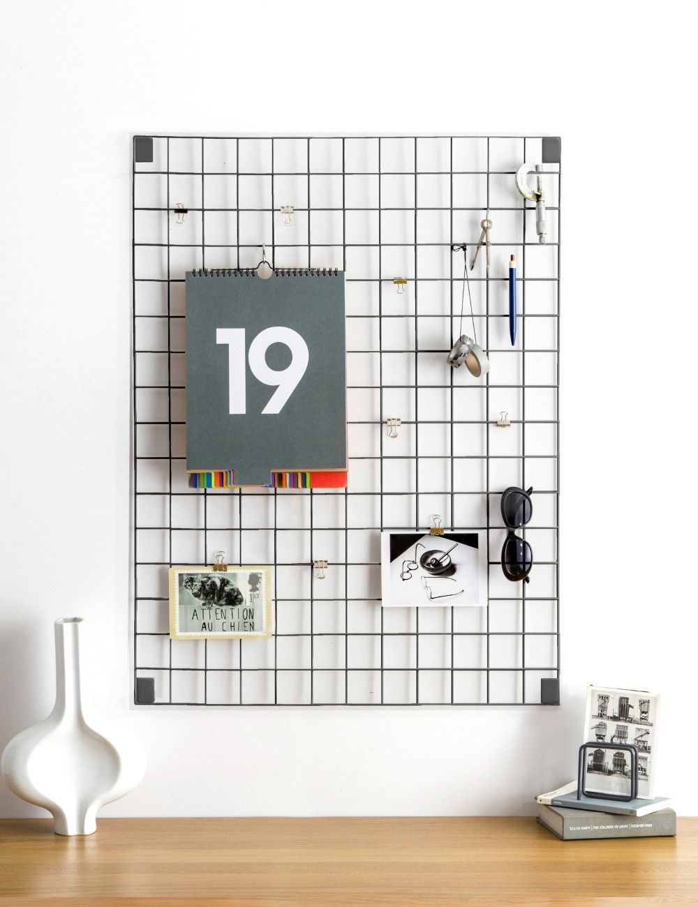 Grey Wire Mesh Memo Board | Wire mesh, Apartment goals and ...
