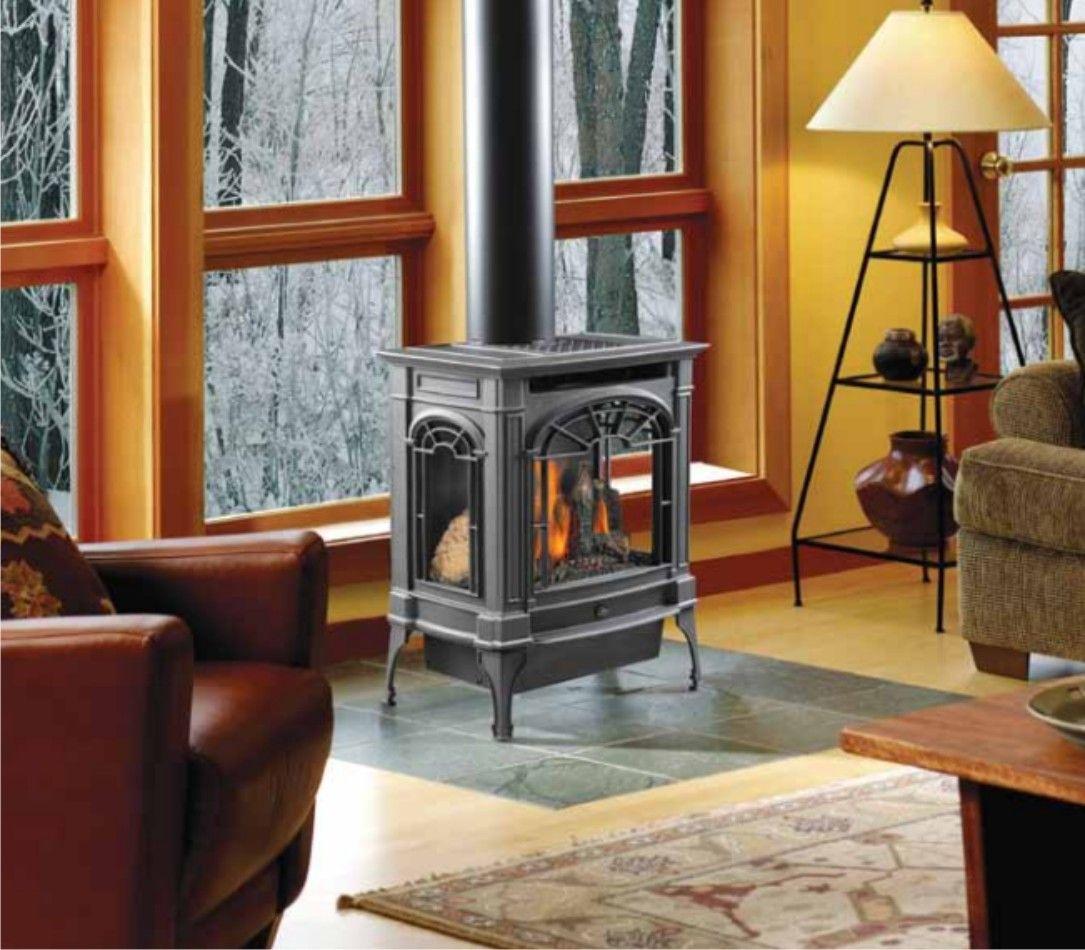 Lopi Northfield Greensmart Gas Stove Modern Fireplaces Seattle Travis Industries Inc