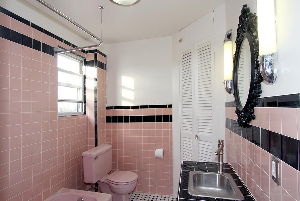 Pink Tile Bathroom Decorating Ideas Pink Bathroom Decor Ideas Pictures Tips From Hgtv Hgtv With Pic Of