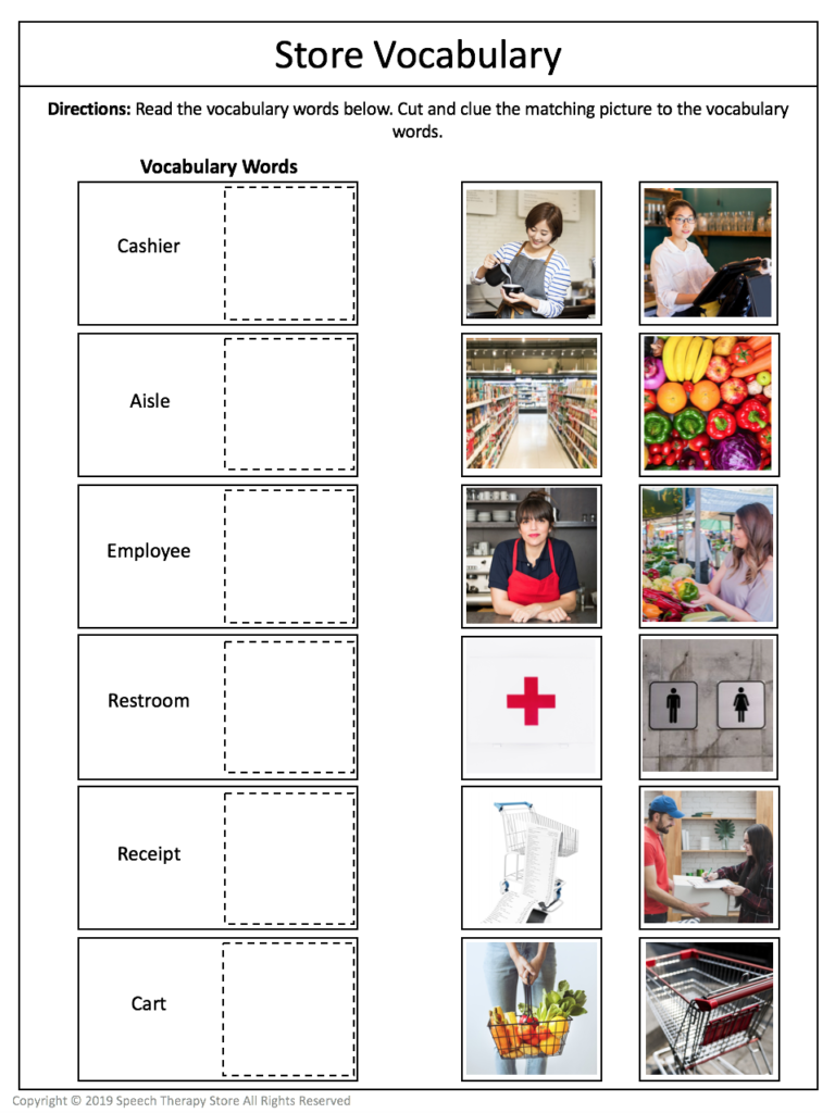 7+ Free Community Outings Printables Life Skills in 2020 ...