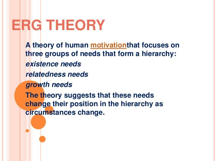 existence relatedness and growth theory