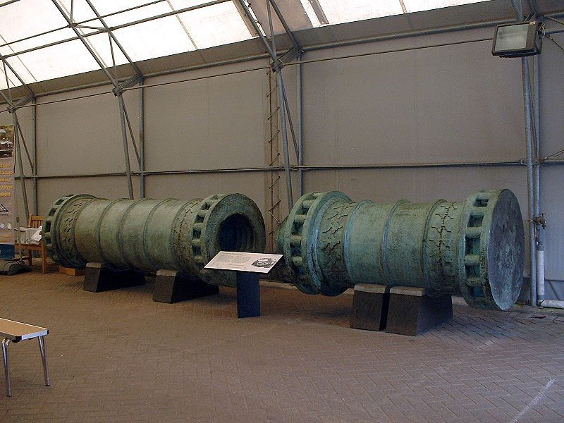 Man Cave Fort Nelson : The dardanelles gun : is a siege dating from soon after fall