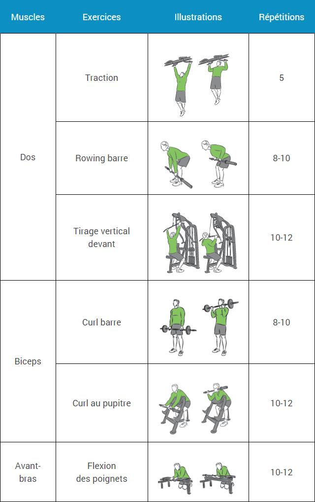 Épinglé sur Musculation