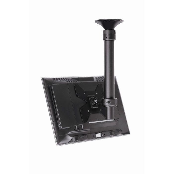 Telehook Tilt / Swivel Short Ceiling Mount For LED / Plasma / LCD