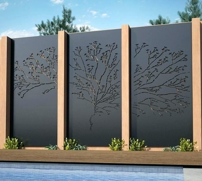 Decorative Outdoor Privacy Screens Outdoor Privacy Screen Panels