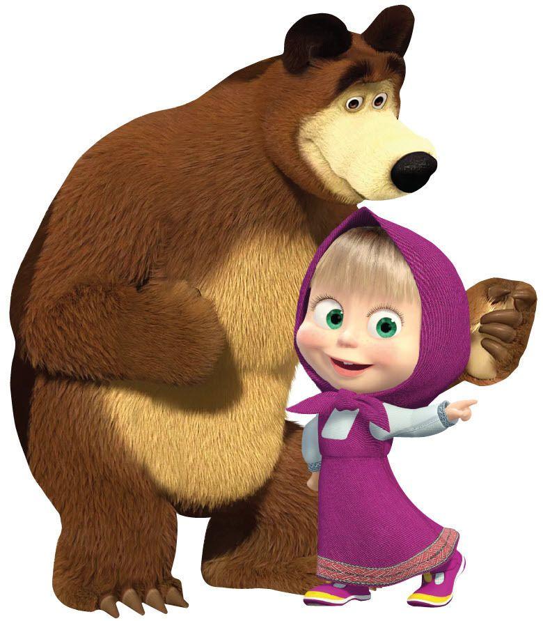 Дети, герои мультфильма маша и медведь в картинках