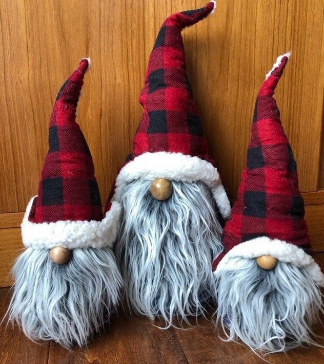 The Minnesota woodsman Paul Bunyan PB is a gnome, nisse, tomte ready for a wilderness adventure #christmasgnomes