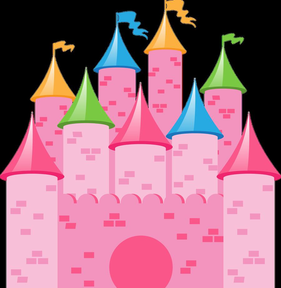 Princesas E Fadas 2 Castle Png Minus Disney Princess Castle Disney Princess Party Clip Art
