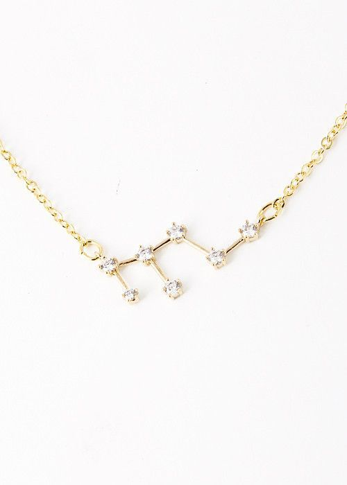 6a7f85ace Leo Constellation Zodiac Necklace - As seen in Real Simple & People ...