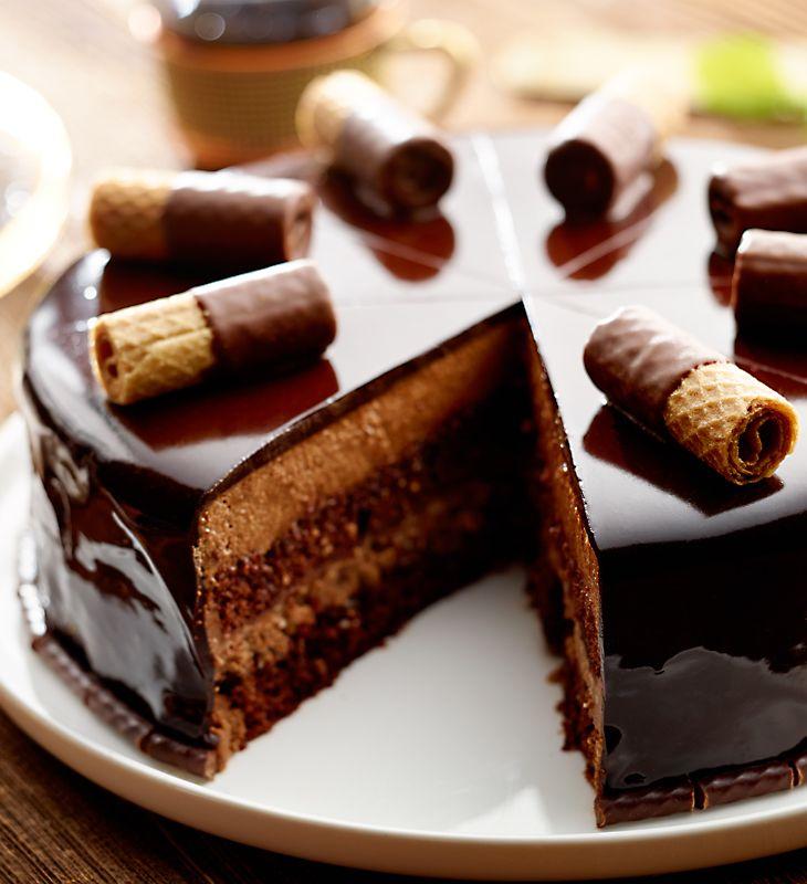 czekoladowy sen lidl przepis ciasto czekolada cukiernik pinterest einfacher nachtisch. Black Bedroom Furniture Sets. Home Design Ideas