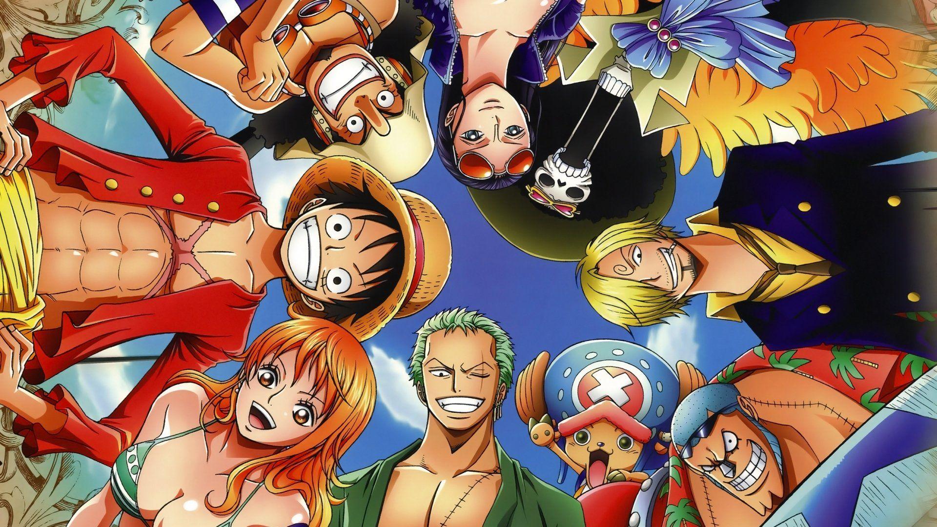 Anime One Piece Franky (One Piece) Nami (One Piece) Zoro Roronoa Tony Tony  Chopper Sanji (One Piece) Brook (One Piece) Nico Robin Usopp (One Piece)  Monkey ... 1c0acab95ab