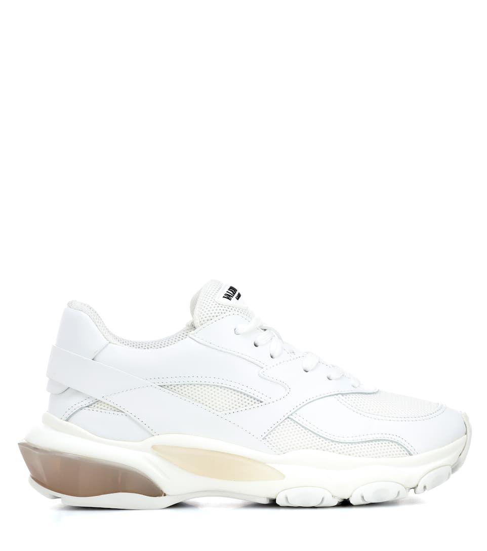 f73cafd5ebc2e Valentino Garavani Bounce leather sneaker white  Bounce