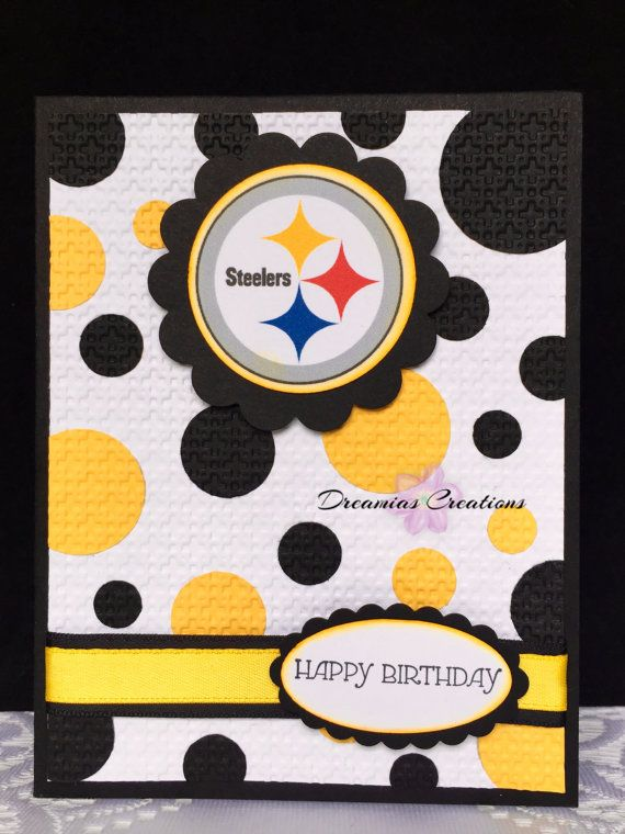 b5cefe69 Great card for any Pittsburgh Steelers fan | My Creations ...