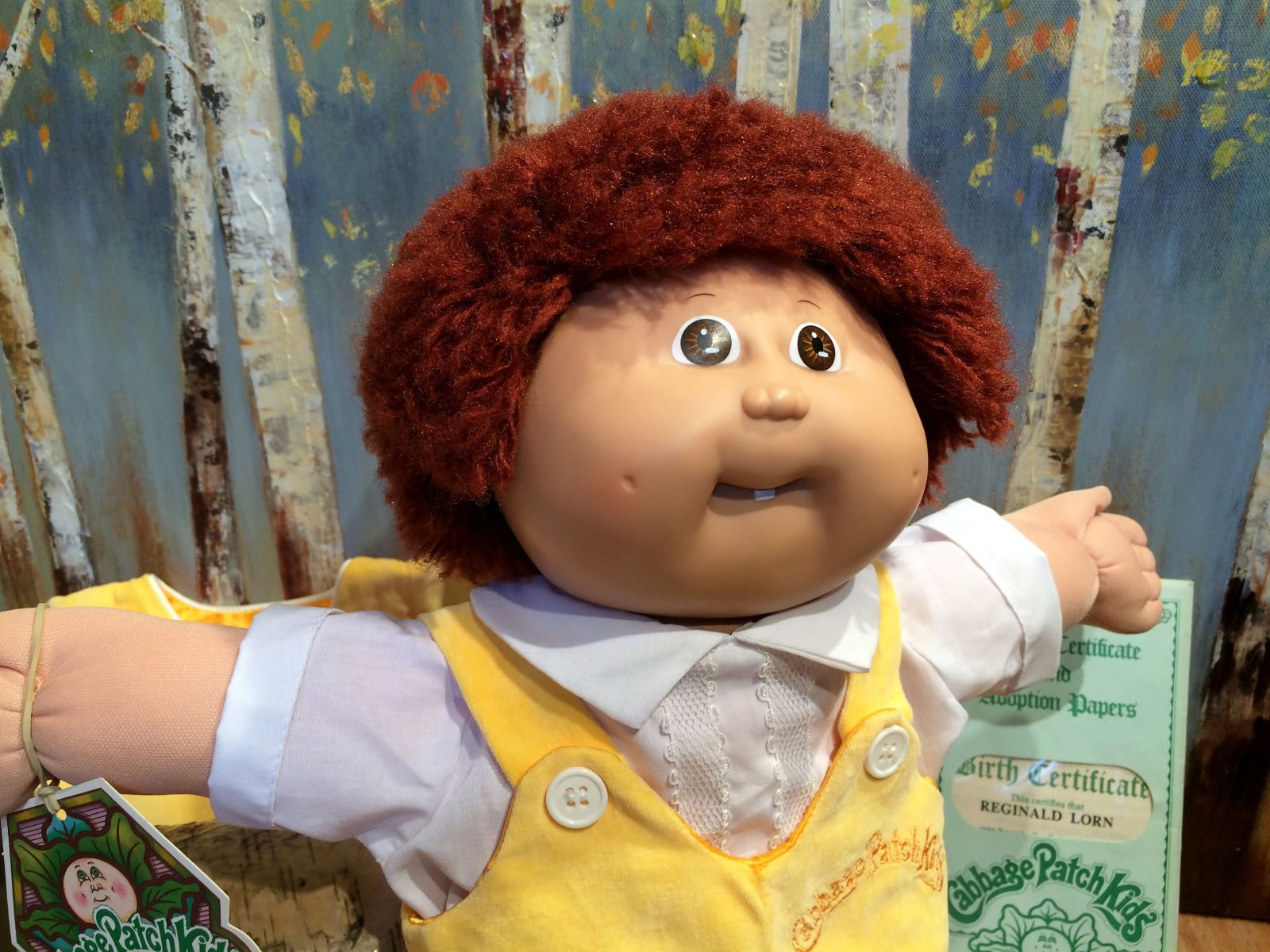 Vintage 1985 Coleco Cabbage Patch Kid Reginald Lorn With Outfit Papers Tag Cabbage Patch Dolls Cabbage Patch Kids Cabbage Patch Babies