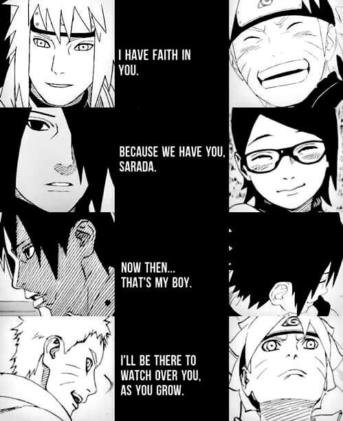 Naruto, Sasuke, And Their Fathers When They Were