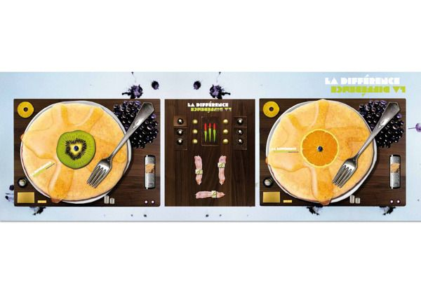 Turntable Collage by Alexandra B3rger