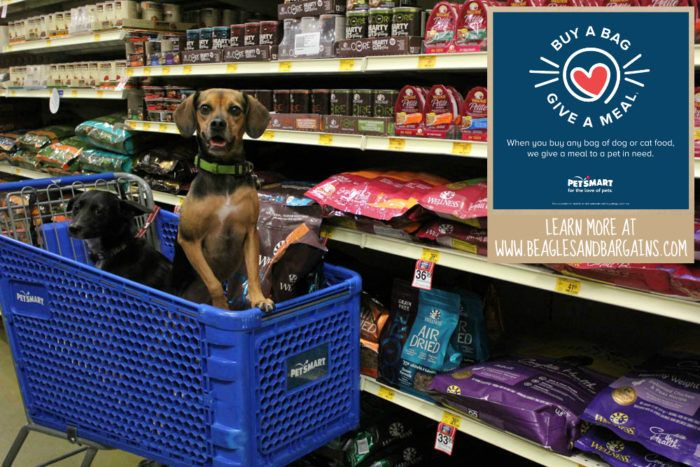 Petsmart Launches Buy A Bag Give A Meal Program To Help Pets In Need Pets Petsmart Cute Dog Photos