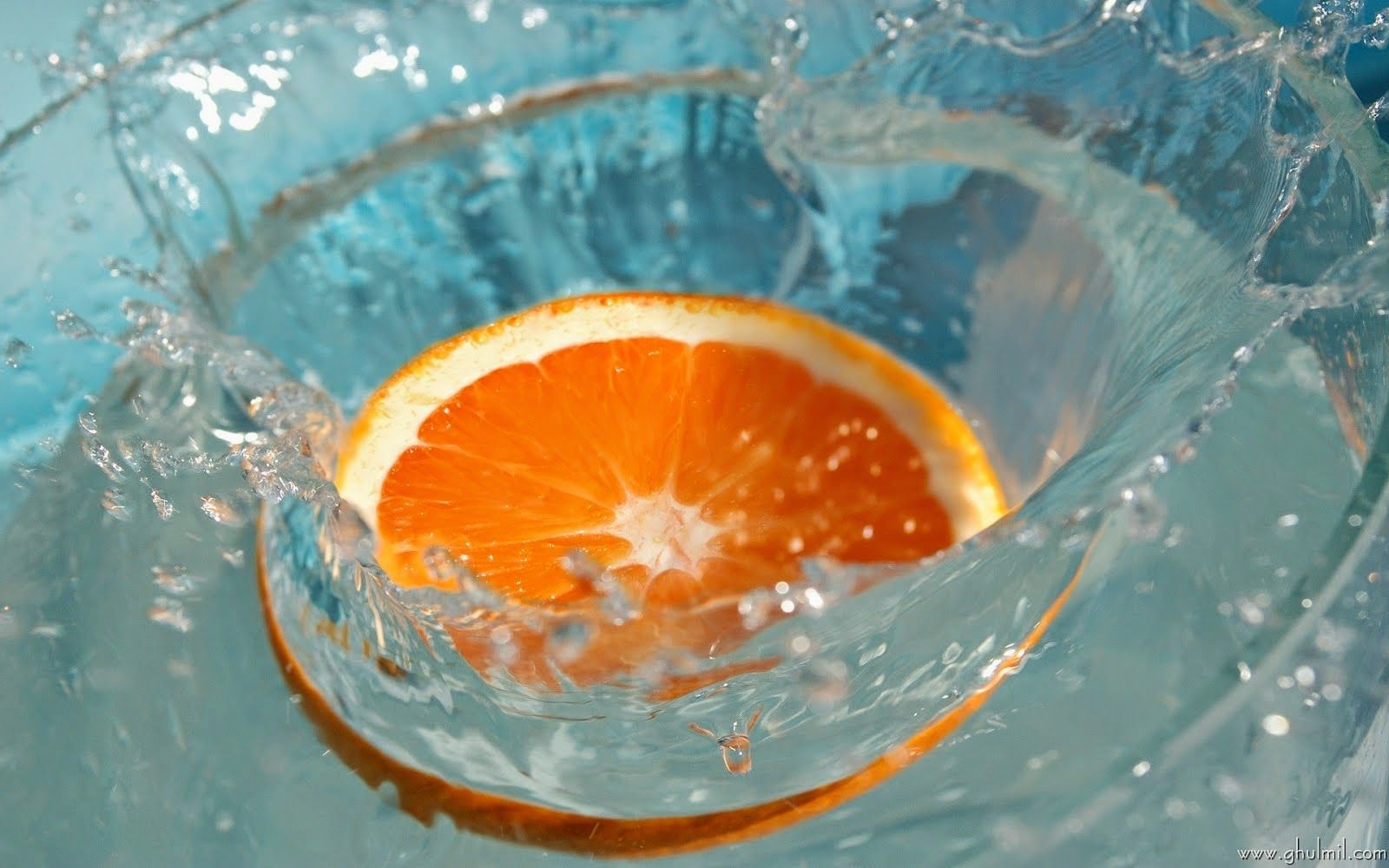 Beautiful Windows 7 Background Hd Wallpaper Free 4k Fruit Wallpaper Photography Orange Fruit Splash Hd wallpaper orange slice bubbles macro