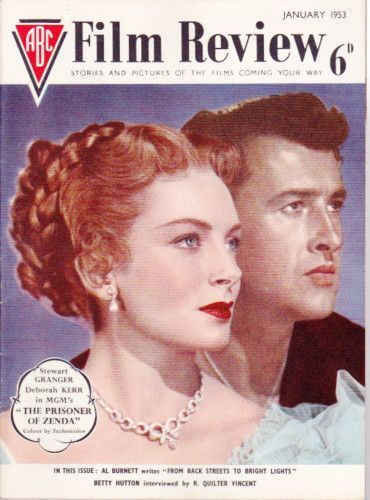Deborah Kerr And Stewart Granger On The Cover Of Abc Film Review