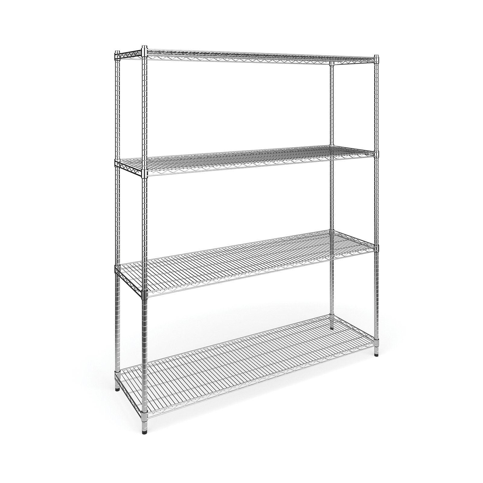 Ofm Model X5r Four Shelf Office Garage Storage Rack Ofm Garage