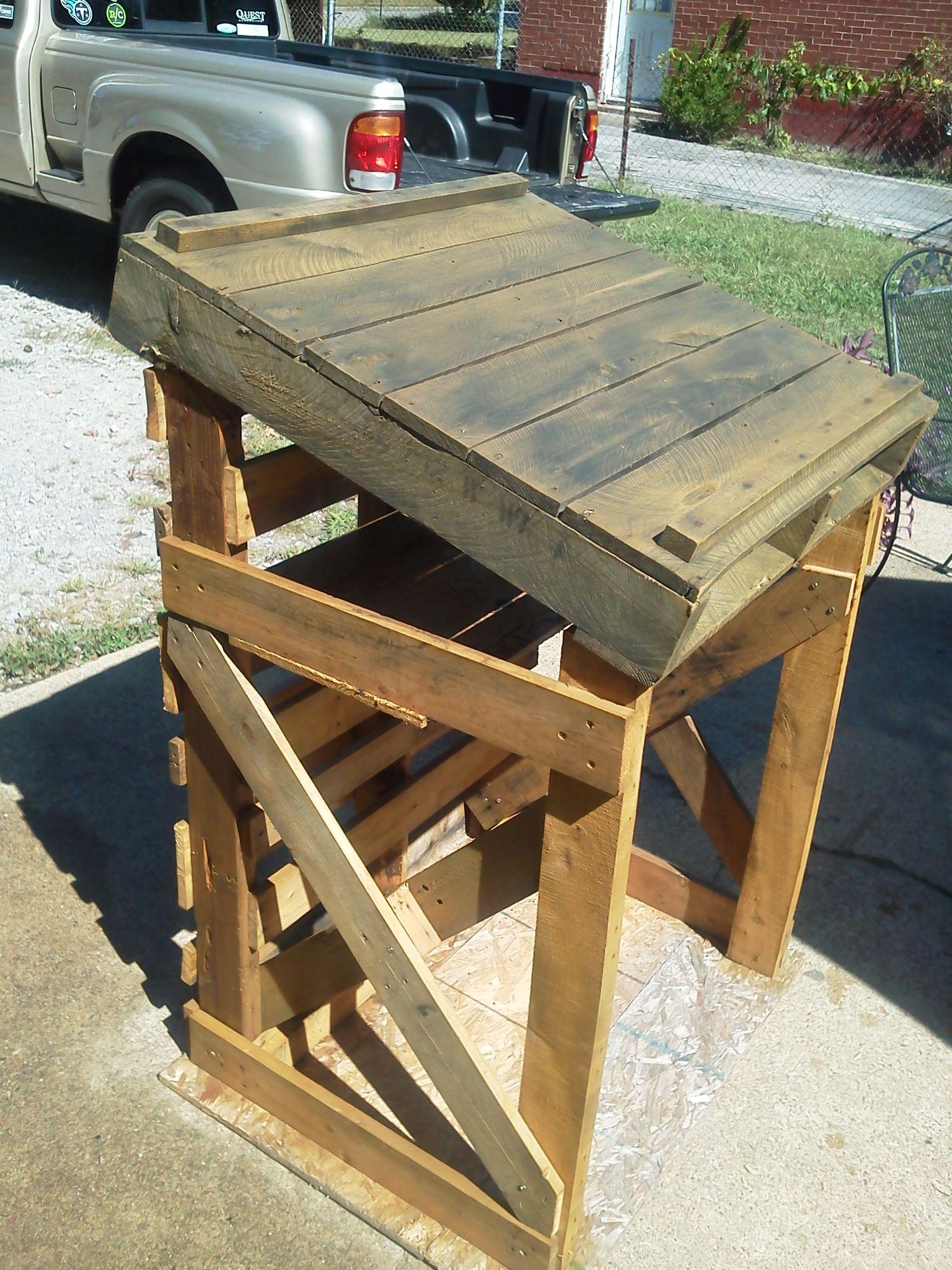 Podium prototype pallet podiumblueprint or drafting table podium prototype malvernweather Image collections