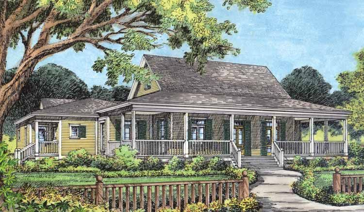 one story farmhouse plans