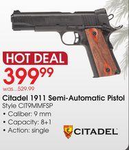 Citadel 1911 Semi-Automatic Pistol from Academy Sports +
