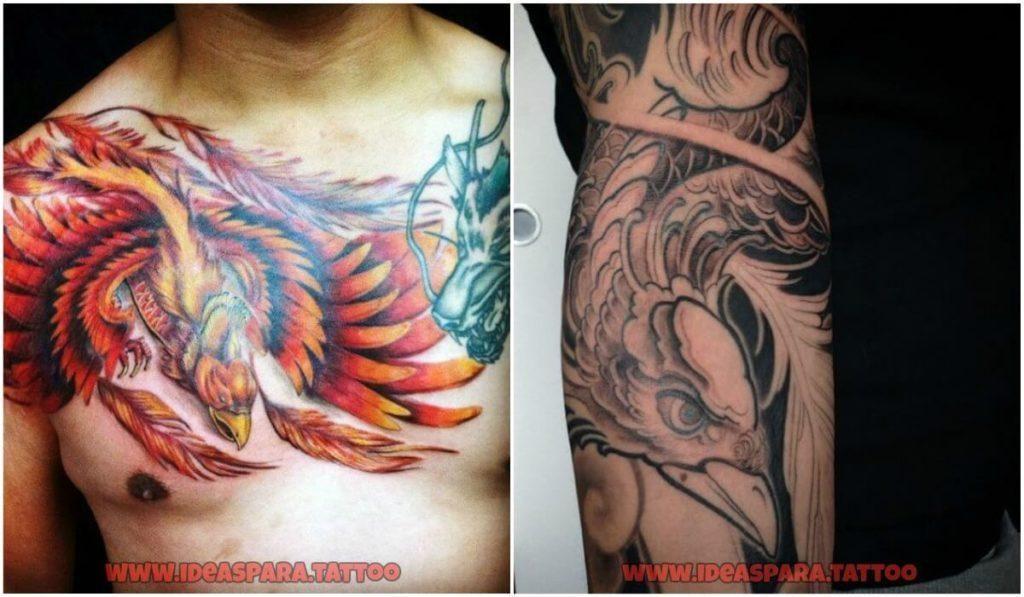 Tatuajes Ave Fenix Ideas Para Tatuajes De Hombre Tatuaje Ave