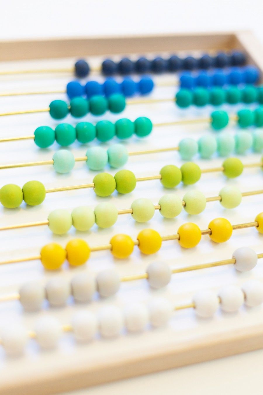 DIY Ombre Abacus | House Ideas | Pinterest | Diy ombre and House