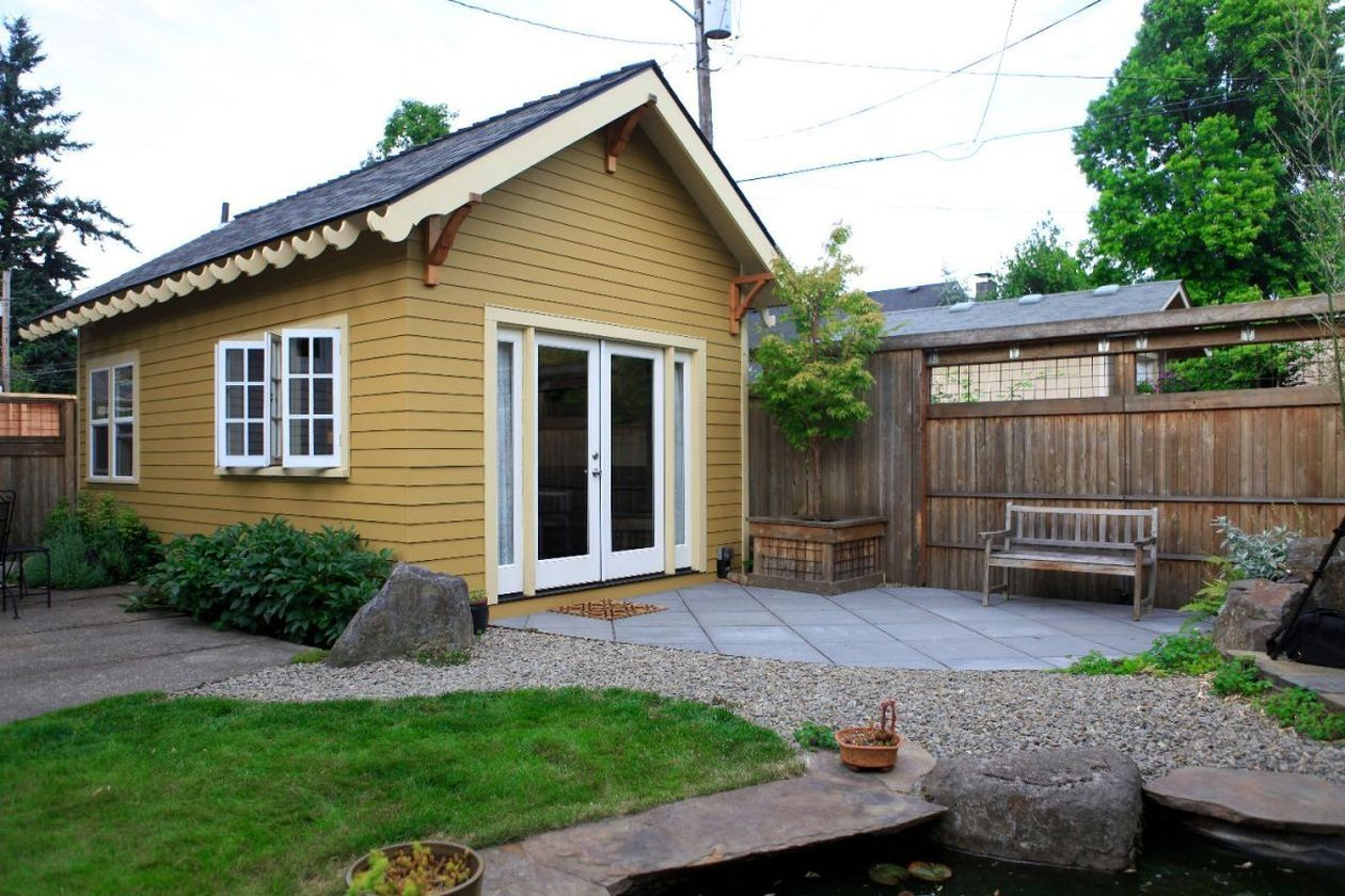40 Best Small Front Yard For Tiny House Backyard Cottage